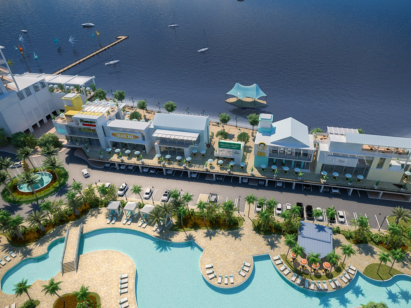 Allegiant plans to break ground in February 2019 on the Sunseeker Resort Charlotte Harbor in southwest Florida, its first foray outside the airline business.