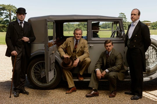 Crawley family chauffeur-turned-son-in-law Thomas Branson (Allen Leech, right) helped patriarch Robert (Hugh Bonneville) manage and modernize his estate after he nearly lost it due to bad investments.