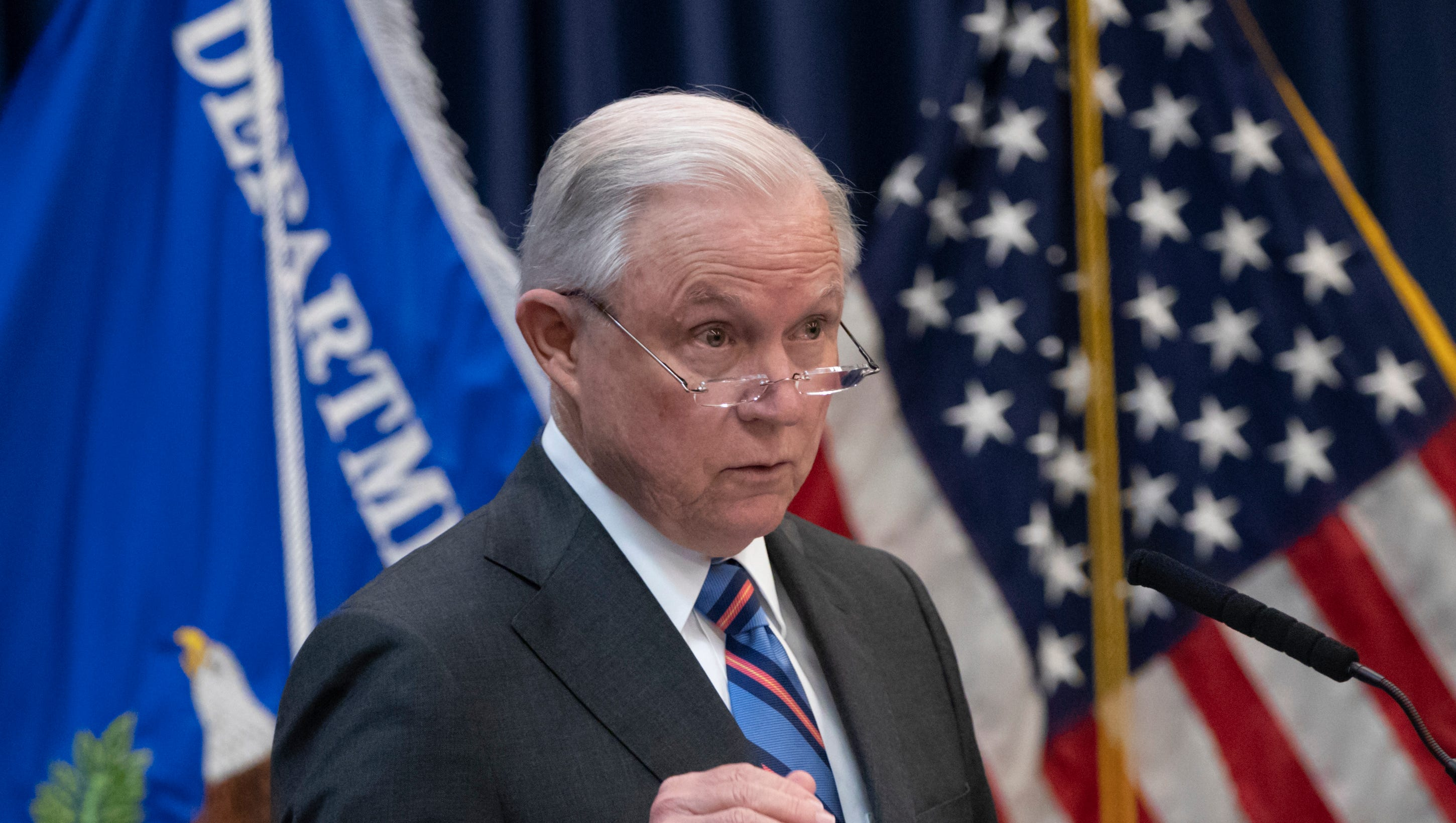 President Donald Trump: 'I don't have an attorney general. It's very sad' thumbnail