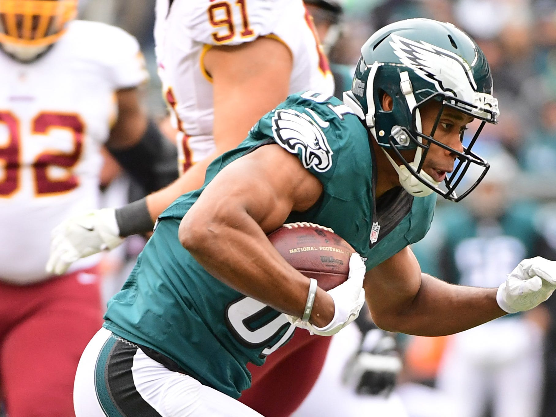 WR Jordan Matthews is returning for a fourth season with the Eagles.
