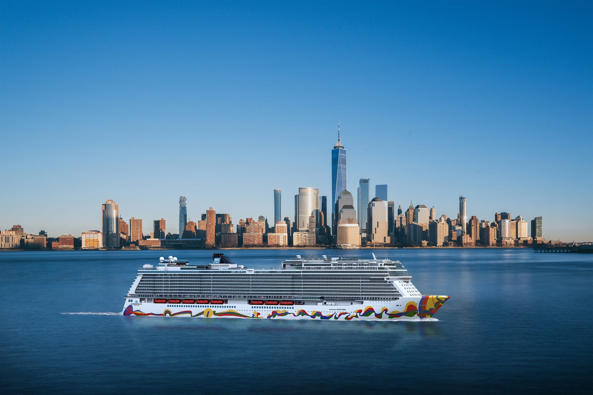 Norwegian Encore: Giant new cruise ship to sail from New York