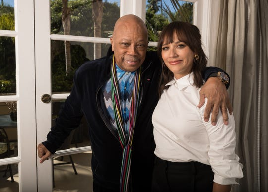 """Quincy Jones had no reservations about opening up for the documentary """"Quincy"""" with his daughter, co-director Rashida Jones. """"You have to do it with someone you really trust. And this is beyond trust,"""" he says."""