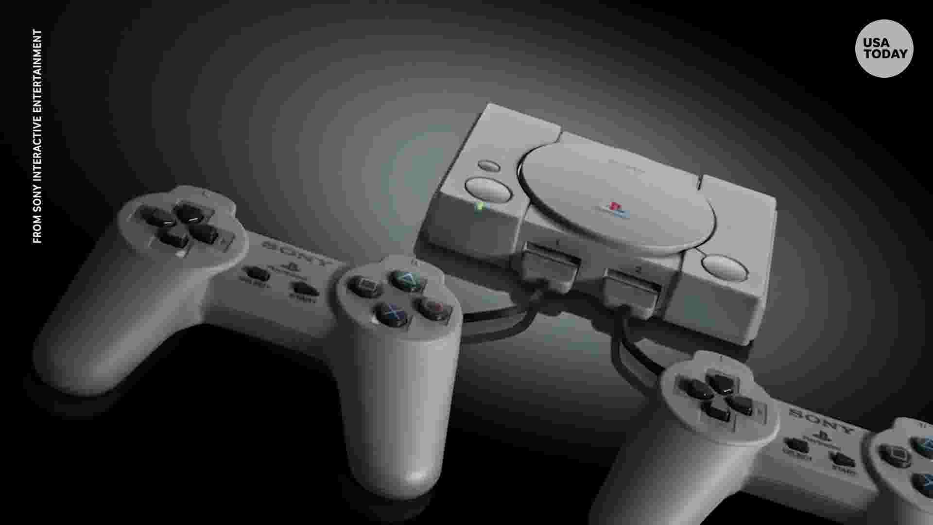 Sony is going retro with PlayStation Classic