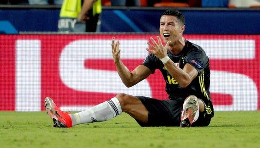 Ronaldo Red Card Robs Champions League Fans Of Juventus Man U Clash