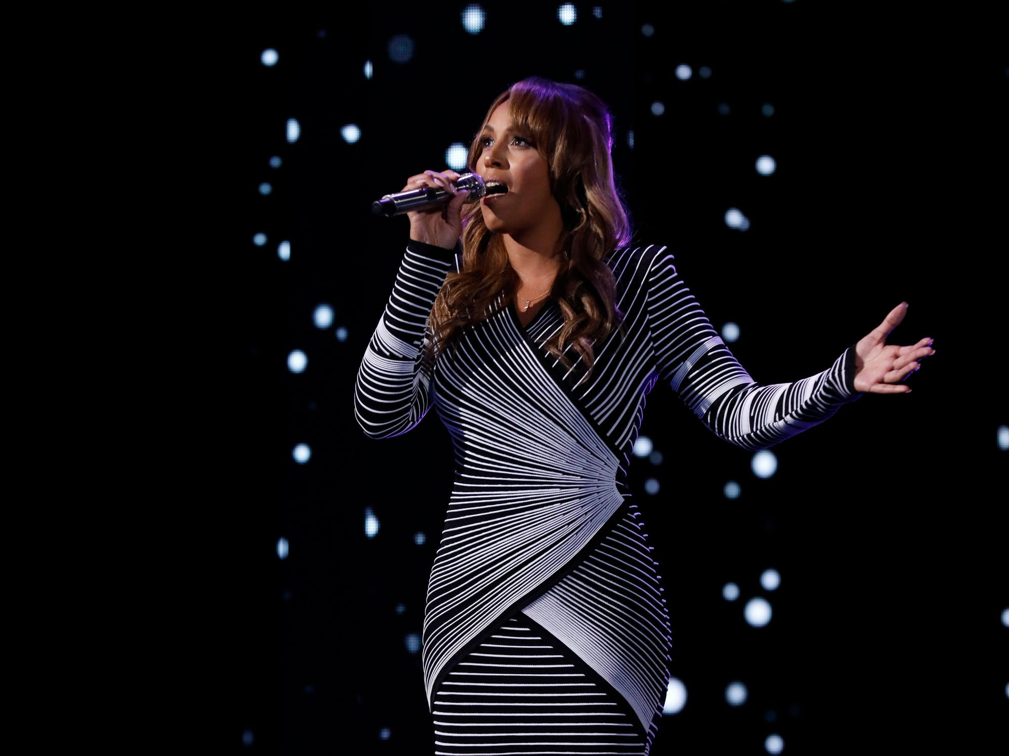 "AMERICA'S GOT TALENT --  ""Live Finale"" Episode 1321 -- Pictured: Glennis Grace -- (Photo by: Trae Patton/NBC)"