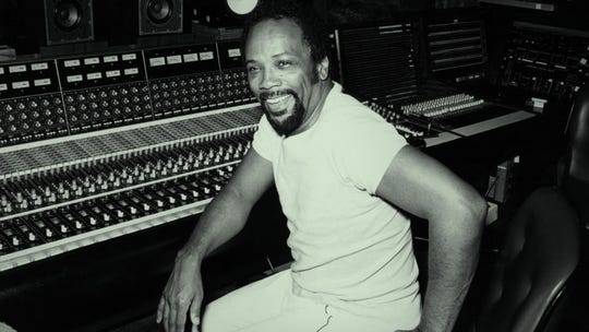 "Quincy Jones, in the recording studio in the '70s, has prospered musically through generations: ""We were kicking booty every decade. """