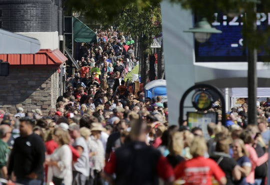 College Avenue in downtown Appleton will be flooded with people Saturday for the 37th Octoberfest.