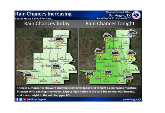 There is a chance for showers and thunderstorms today, with precipitation chances increasing tonight as an upper level trough moves into the region and interacts with increasing moisture.