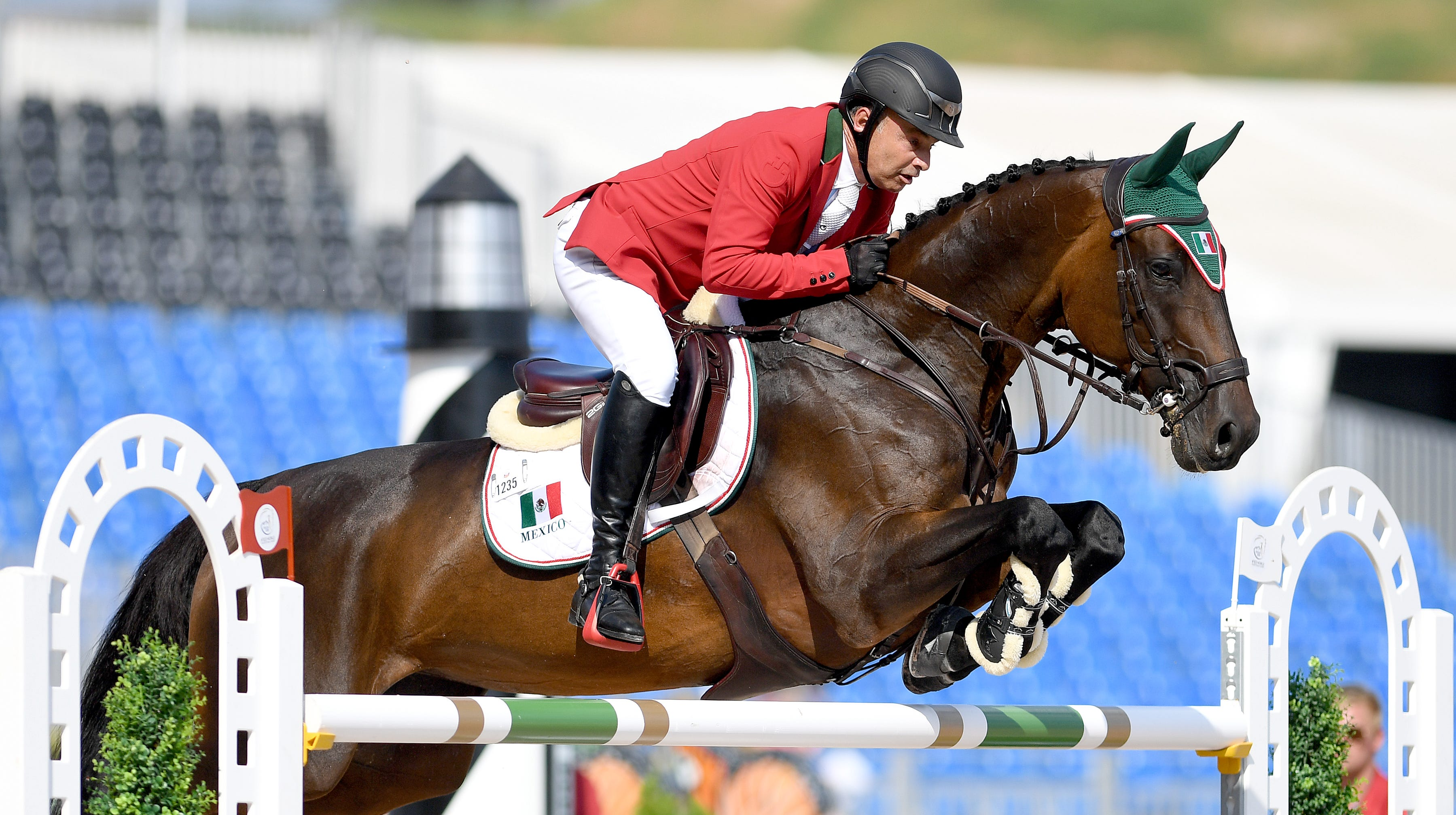 World Equestrian Games team jumping