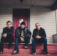 MxPx are (from left) Tom Wisniewski, Mike Herrera and Yuri Ruley.