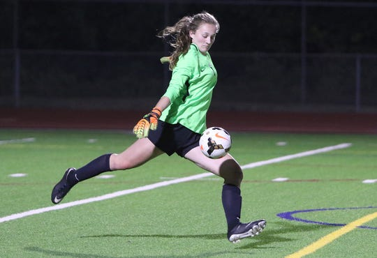 South Kitsap goalkeeper Megan Nail missed her junior season after breaking her wrist in a dirtbike accident.