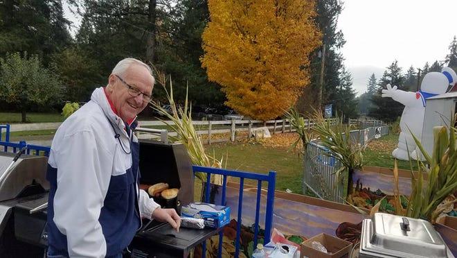 Jim Carlson at Minder Farm