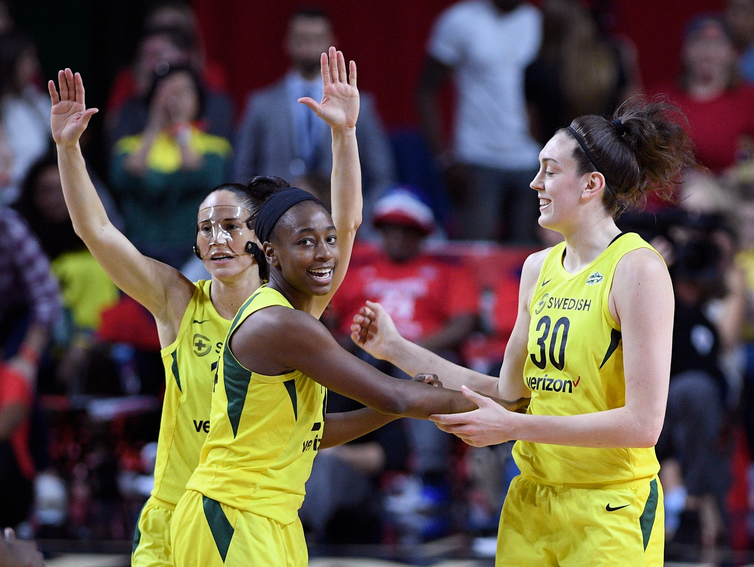 Seattle Storm stars had little time to rest
