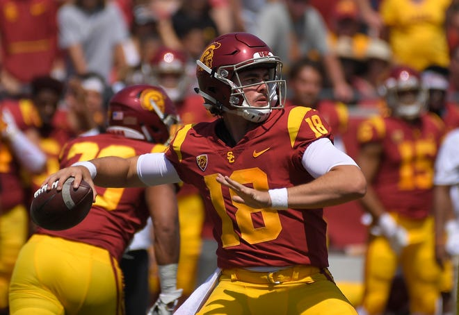 Quarterback J.T. Daniels and the USC Trojans will attempt to avoid their first three-game losing streak in a single season since 2012 when they host unbeaten Washington State at the Coliseum in their first Friday night home game since 1999.