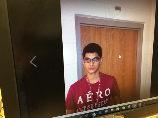 Shown is Nishal Sankat, a Florida Tech student charged with trying to steal a plane from Orlando Melbourne International Airport on Sept. 20, 2018.