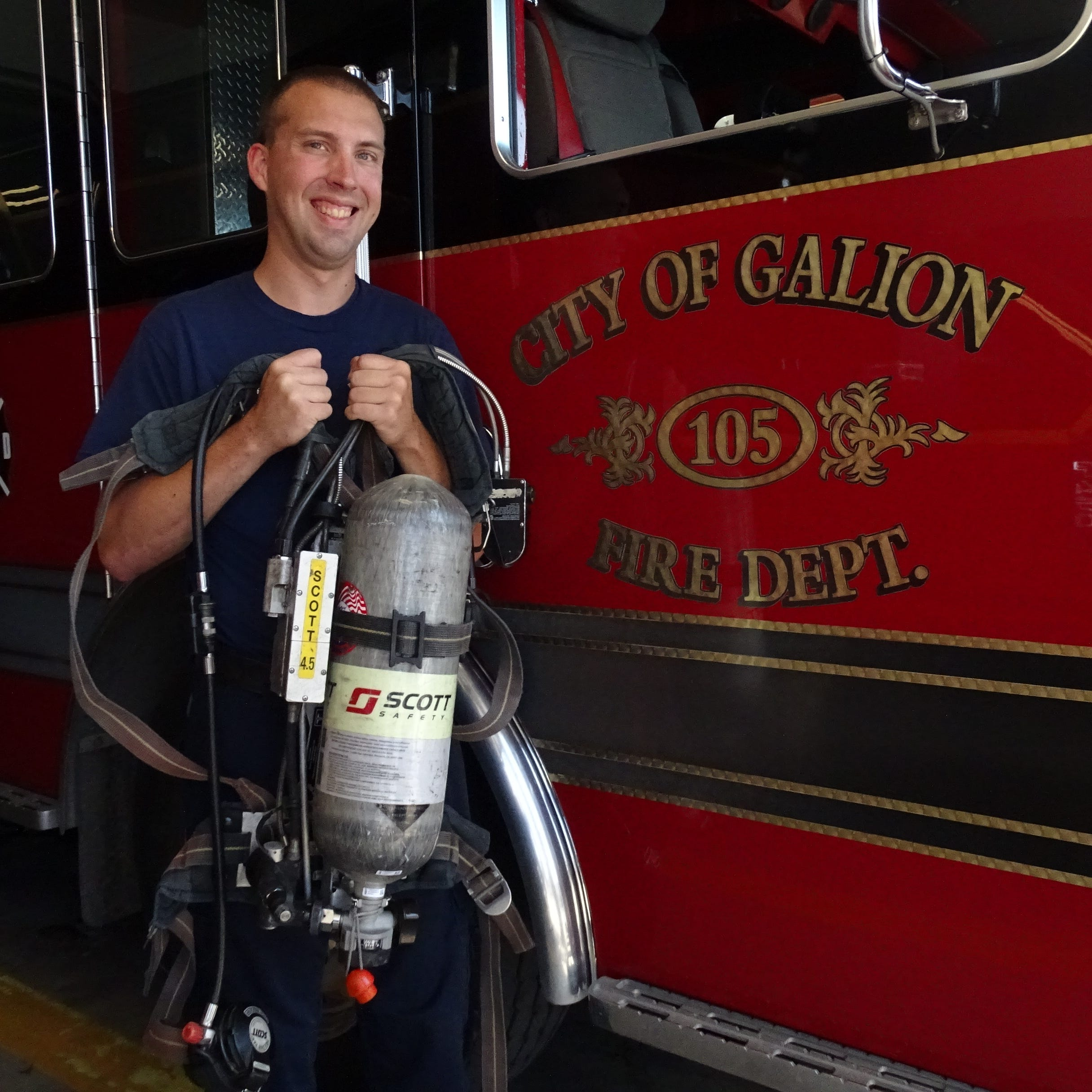 Federal grant will bring new fire equipment to Galion