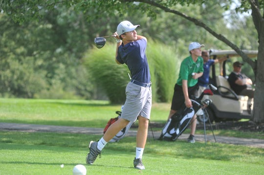 Spencer Keller and the Tigers have a busy week ahead with two tournaments and the final regular season match.