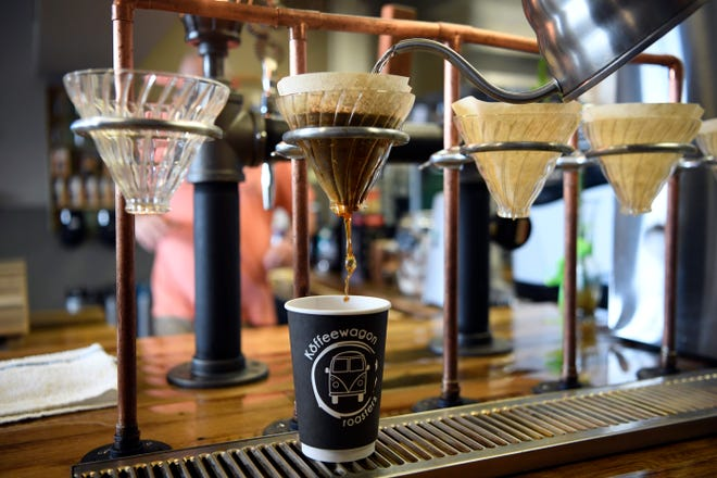 Seeking a pour-over? Stop at Koffeewagon Roasters in Hasbrouk Heights.