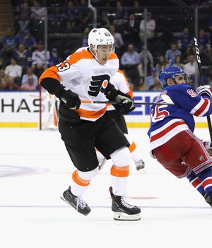 German Rubtsov, a 2016 first-round pick, was among the 11 cuts made Thursday. He'll start his pro career with the Lehigh Valley Phantoms.