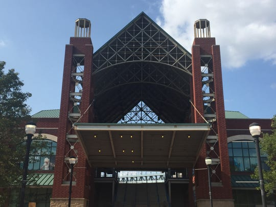 Campbell's Field, once home to the Camden Riversharks, now awaits demolition.