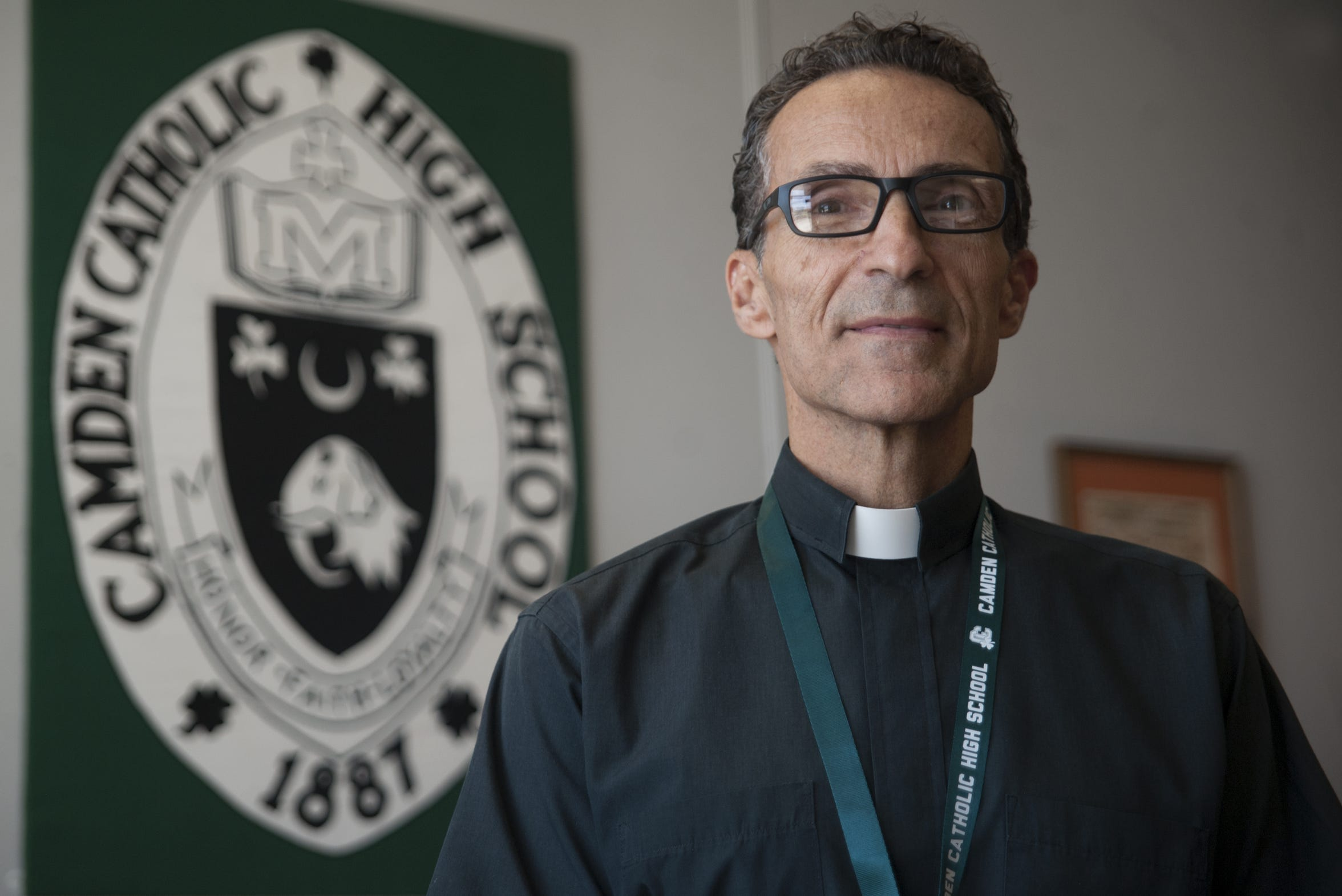 Father Joe Capella, rector at Camden Catholic High School in Cherry Hill.