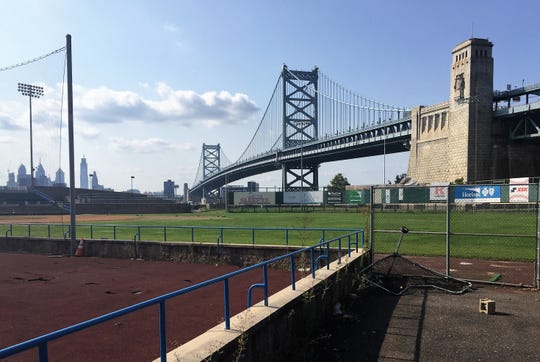 The Camden County Improvement Authority is seeking bids to demolish Campbell's Field on the Camden Waterfront.