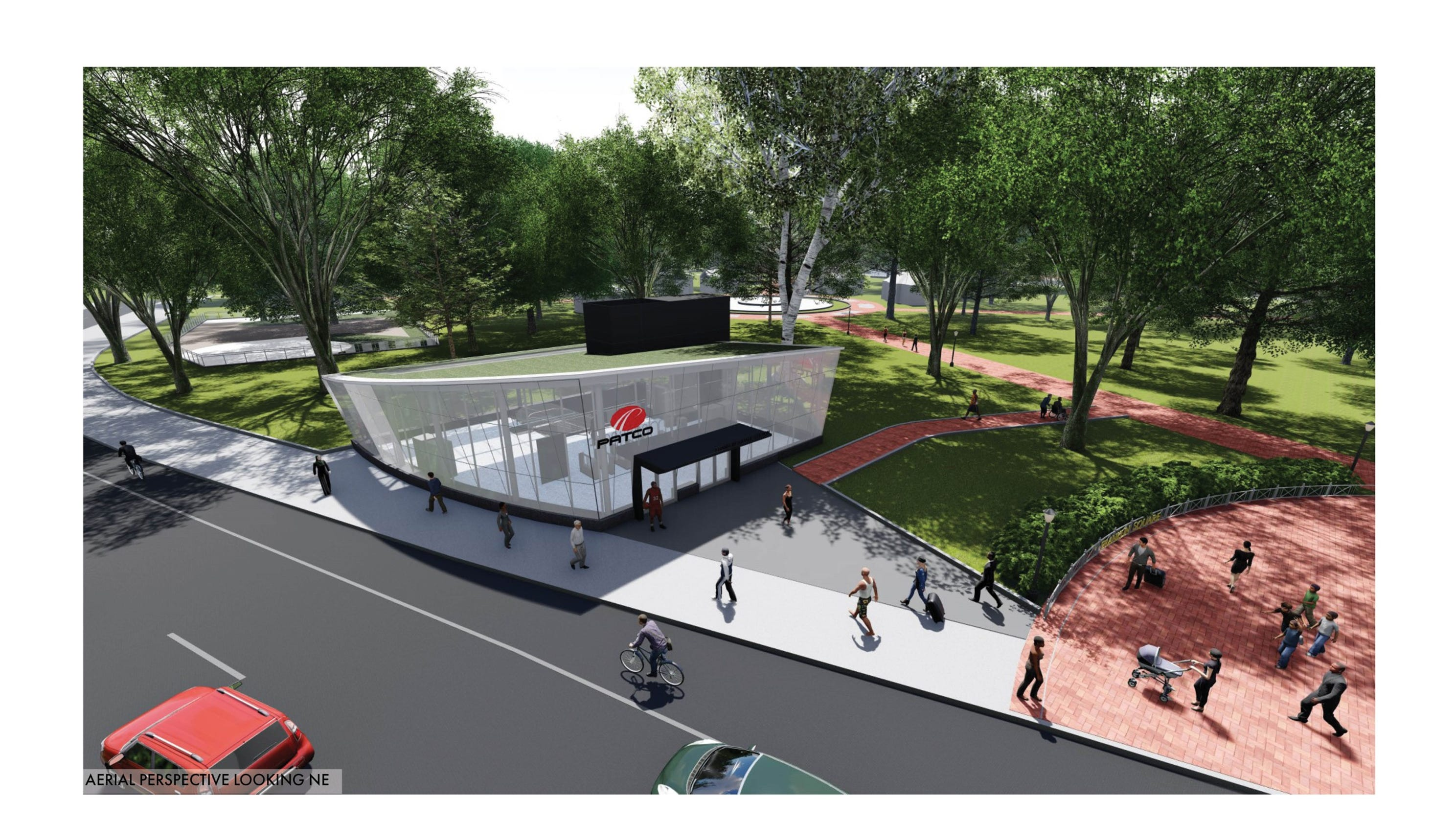 New PATCO design for reopening Franklin Square Station in