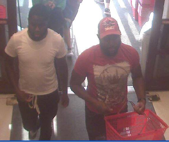 Police seek two men in reference to a recent fraud at ShopRite in Cherry Hill.