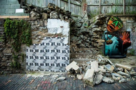 ArtWorks added 14 murals to Bolivar Alley in Pendleton.