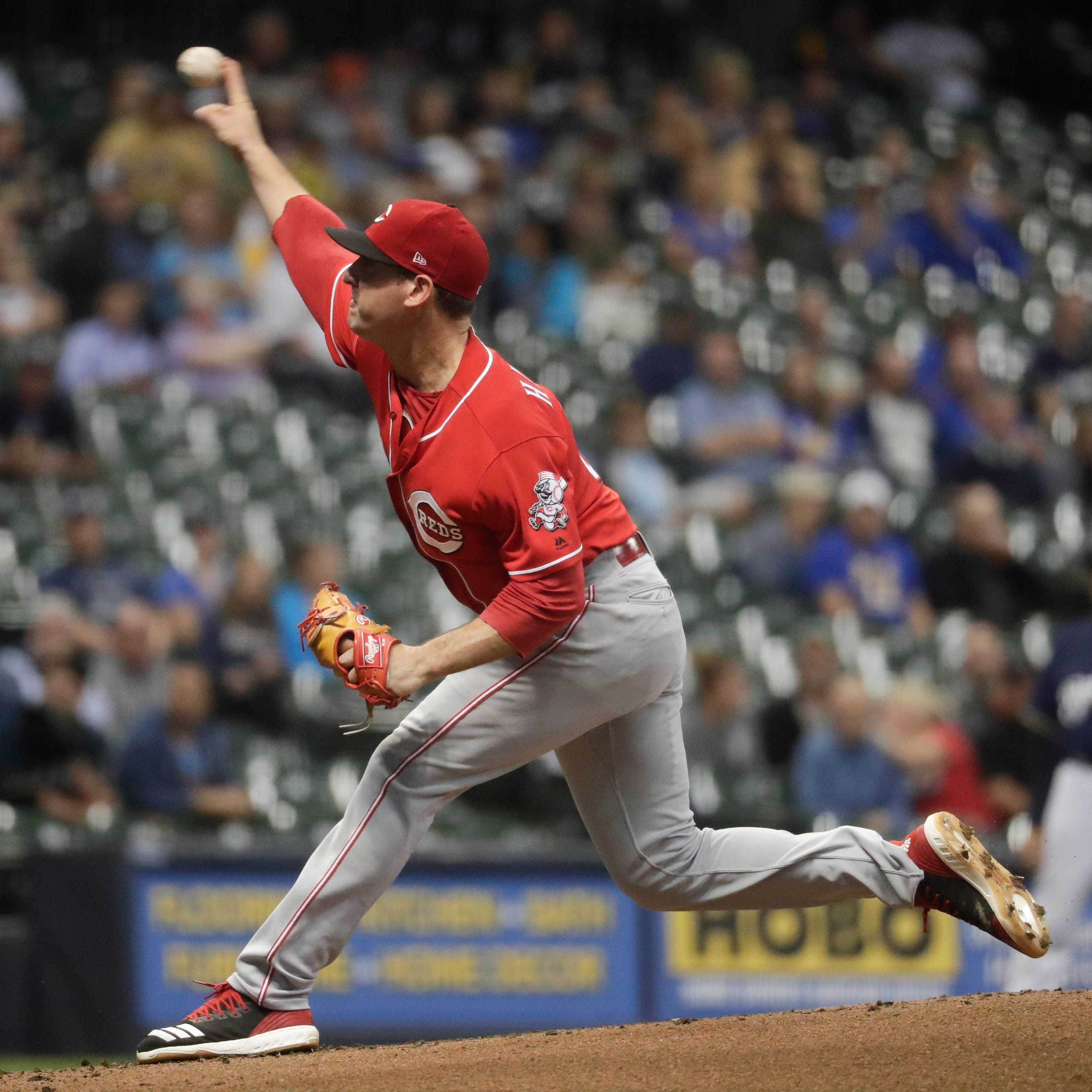 Cincinnati Reds shut out for 3rd time in last five games in loss to Milwaukee Brewers