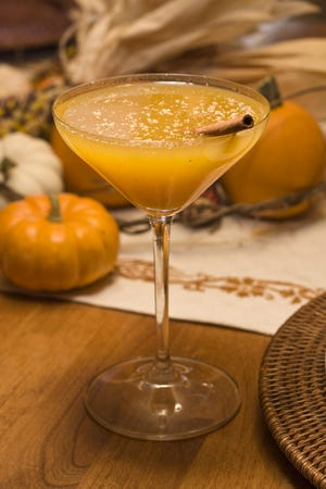 A fall cocktail.