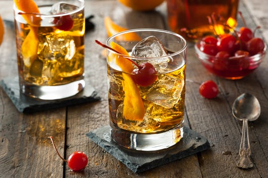 Pumpkin Old Fashioned.