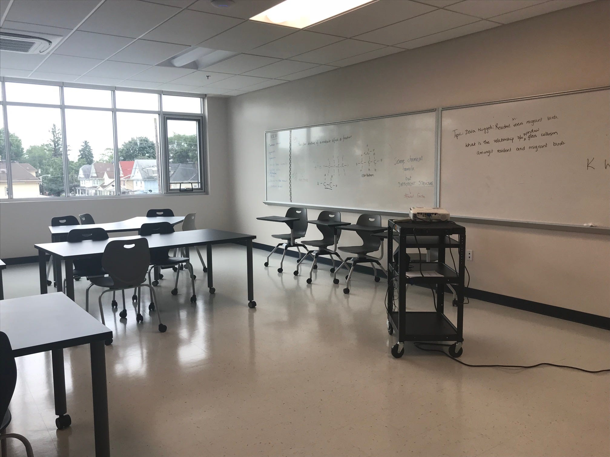 With fresh, bold blue paint on its pristine walls, College Achieve CentralHigh School welcomed its first students Aug. 27. More than 300 students from Somerset, Middlesex and Union countieshave been enrolled in the charter high school.