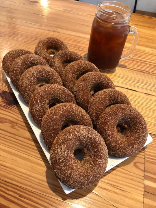 Looking to be inclusive and meet the needs of the community, The Coffee Box in Plainfield offers several gluten-free items on its creative menu, including Apple Cinnamon Donuts.
