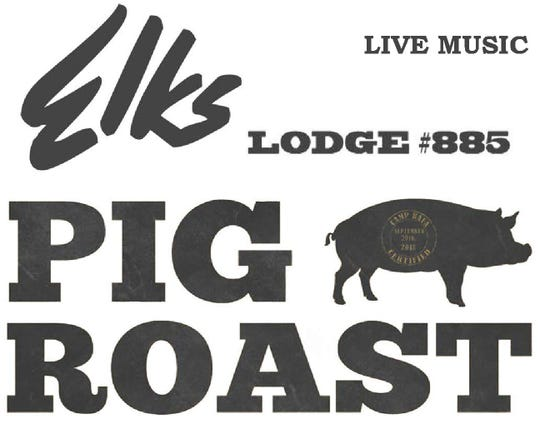 Watchung Hills Elks Lodge #885 will be holding their annual Pig Roast from 1 to 7 p.m. on Saturday, Sept. 29, at Watchung Hills Elks Lodge #885, 1 Elks Trail, Warren.