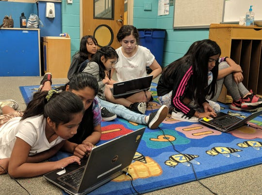 Luna Cortelezzi, a senior at Mount Saint Mary Academy in Watchung and the co-founder of the Academy's Girls Who Code Club, spent four weeks during her summer vacation empowering youth by teaching them valuable computer science skills during a program she initiated and established.