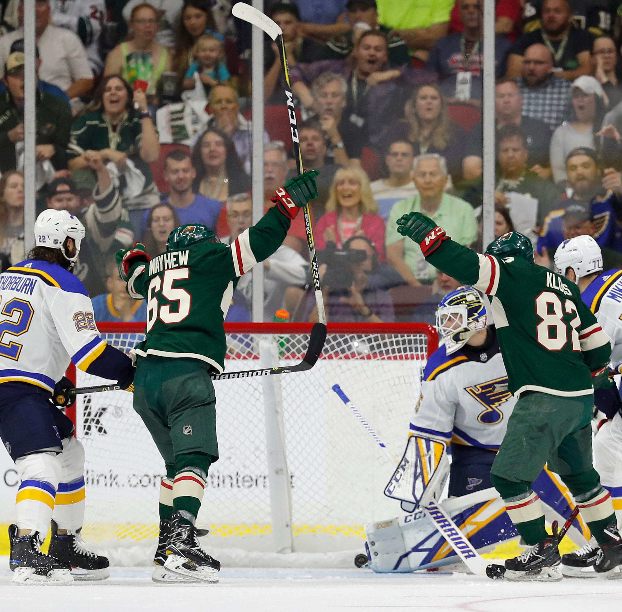 St. Louis Blues stun Minnesota Wild late in NHL preseason game at Wells Fargo Arena