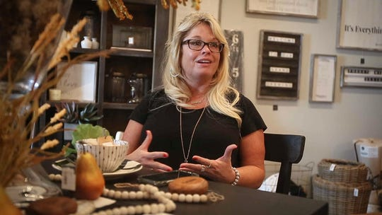 Mindy Seeman recalls the tragic day when her husband and brother-in-law both drowned two years ago in Missouri. Seeman and her sister, Missey Michel, will open Forget Me Not, a new decor store in Ankeny, in memory of their late husbands.