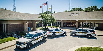 Pleasant Hill's police department currently sits in between the city's fire station and library. City officials say the cramped facility is hindering the department's growth.
