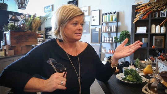 Missey Michel recalls the tragic day when her husband and brother-in-law both drowned two years ago in Missouri. Michel and her sister, Mindy Seeman, are opening Forget Me Not, a new decor store in Ankeny, in memory of their late husbands.