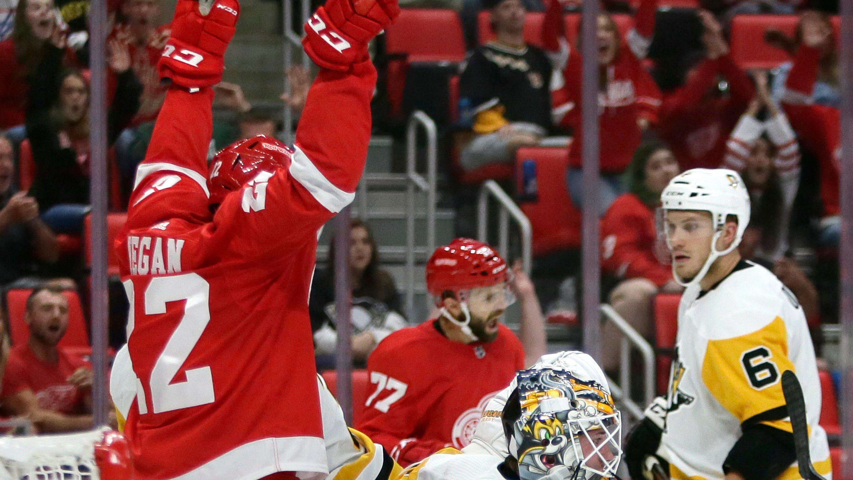 Detroit Red Wings  first-rounders show poise in preseason win e6d67b8e6