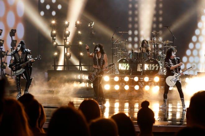 "Kiss plays ""Detroit Rock City"" on ""America's Got Talent"" on Sept. 19, 2018."