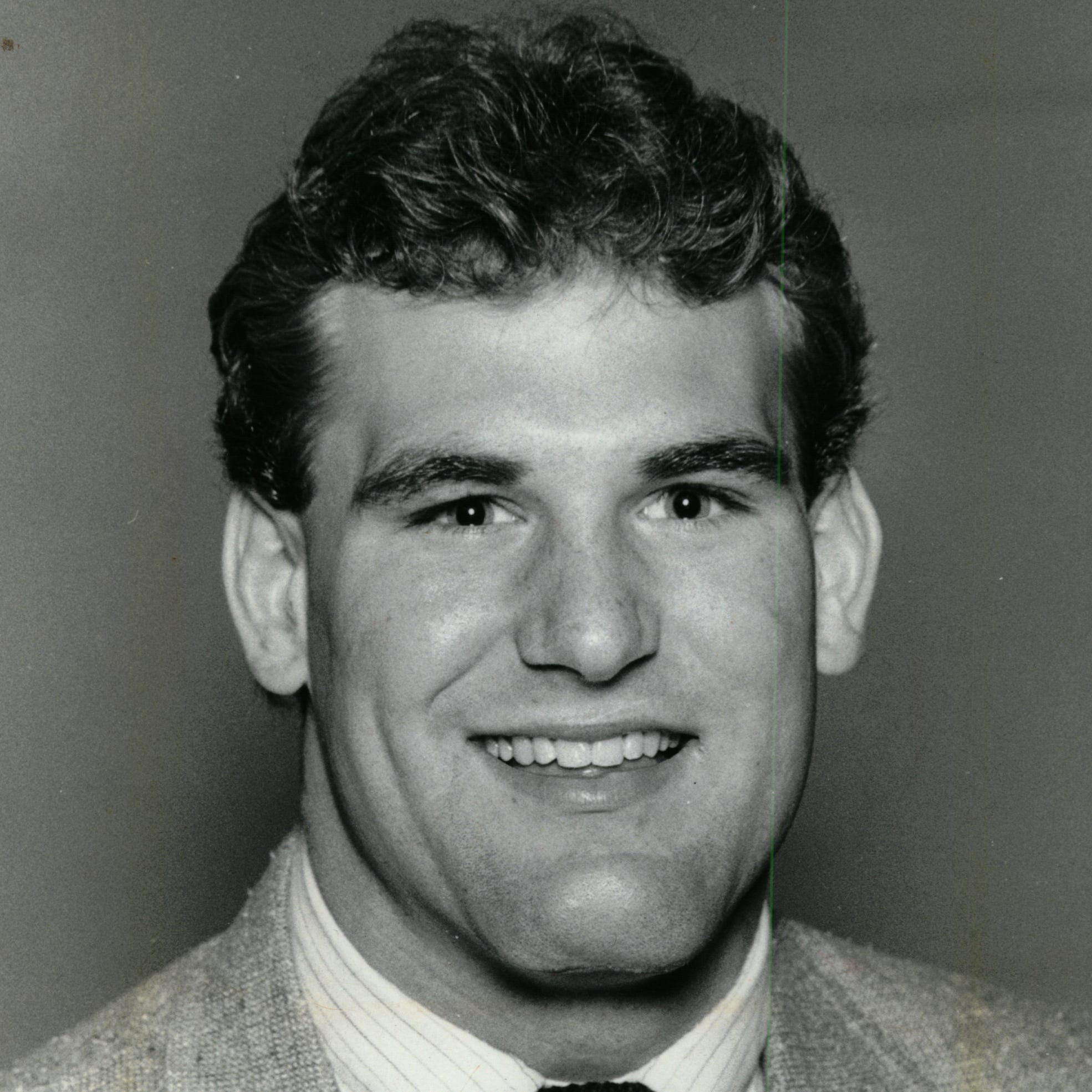 Farmington Hills Harrison football's first star: John Miller in 1981-84