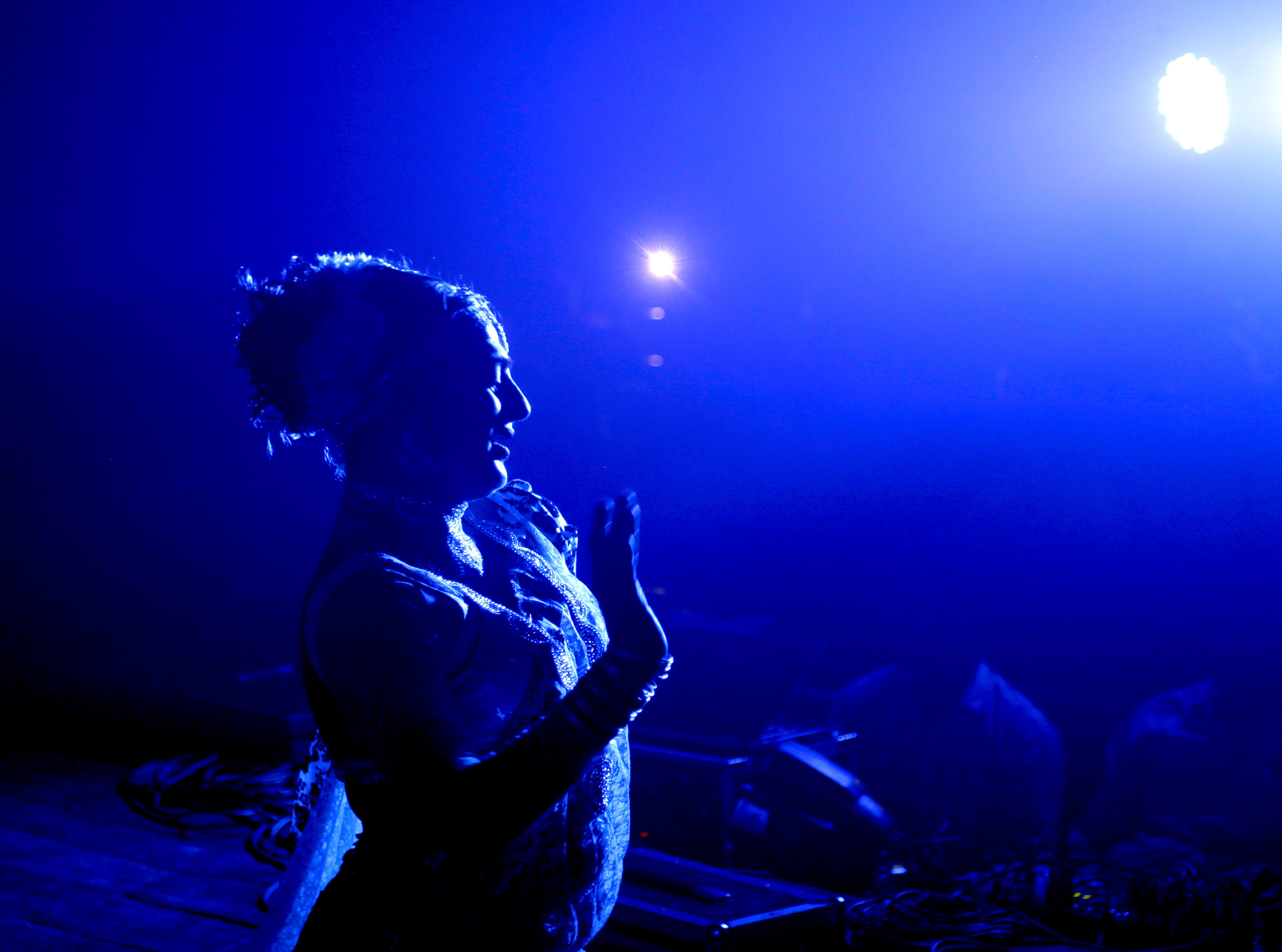 A supporter performs in a fundraiser for the transgender community and their rights in Mumbai, India, Thursday, Sept. 20, 2018. Over the past decade, the transgender community and homosexuals have gained a degree of acceptance in India, especially in big cities.