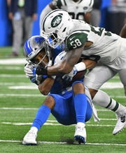 Should the Lions continue to struggle early in the season, Lions wide receiver Golden Tate could be a candidate to be traded because of his free-agent status at season's end.