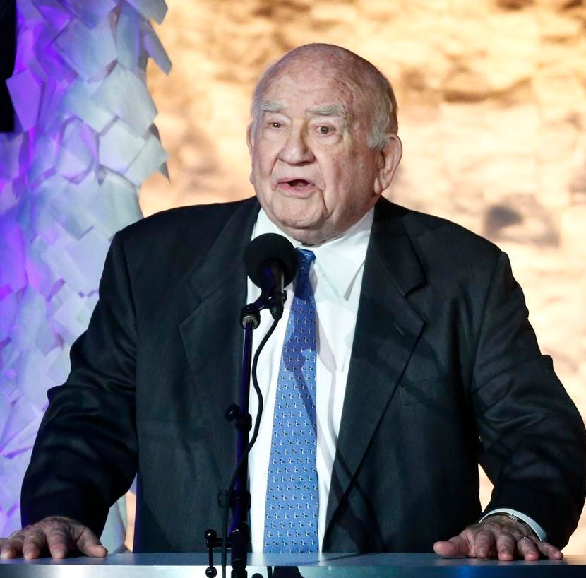 Veteran actor Ed Asner hits The Players on Saturday