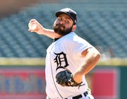 Michael Fulmer made a surprise visit to the Tigers' clubhouse on Saturday.