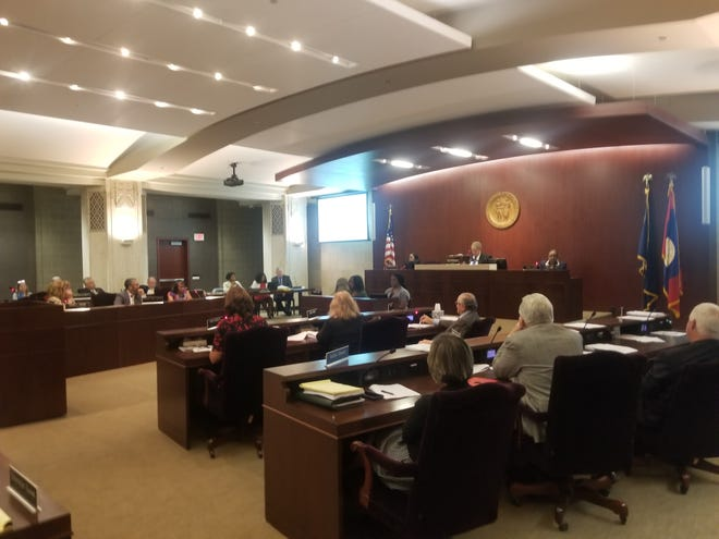 The Wayne Co. Commission approved a nearly $1.6 billion budget on Thursday, which includes a $15 raise to retirees' monthly health care stipends. The increase would result in an estimated $5.6 million to the county's unfunded liabilities.