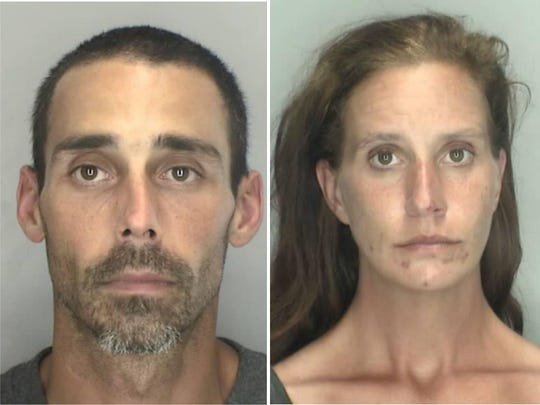 Jason Malinas, 38, of Sterling Heights,  and Jessica St. Clair, 41, of Wayne, were arraigned Thursday.