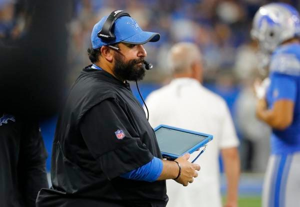 Matt Patricia with the Lions is trying to be one of the rare disciples of Patriots coach Bill Belichick who goes on to have success as a head coach.